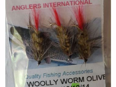 ANGLERS INTERNATIONAL  WOOLY WORM