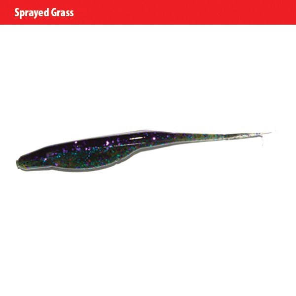 Zoom Super Fluke - sprayed grass
